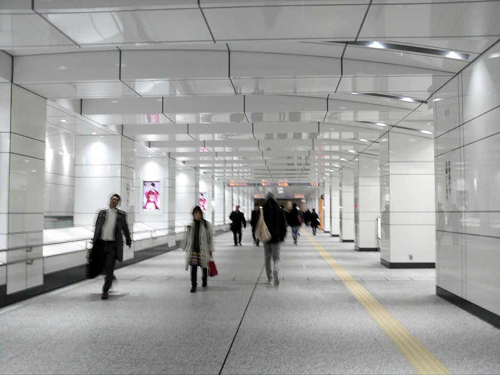 新宿駅西口地下-3