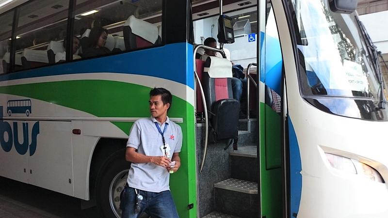 セブのシャトルバス「MyBus」