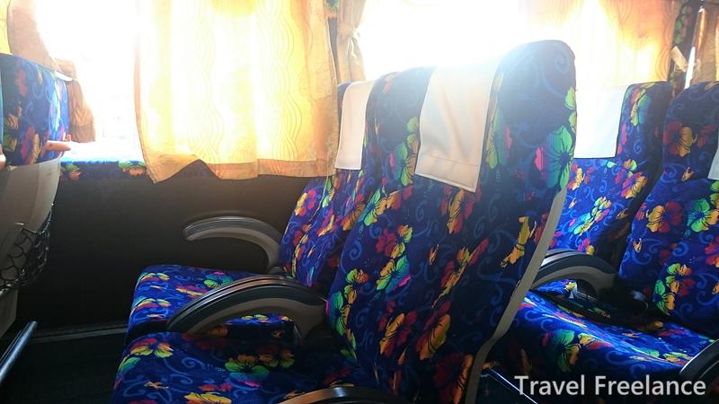 「XPRESS KESATUANバス車内の様子
