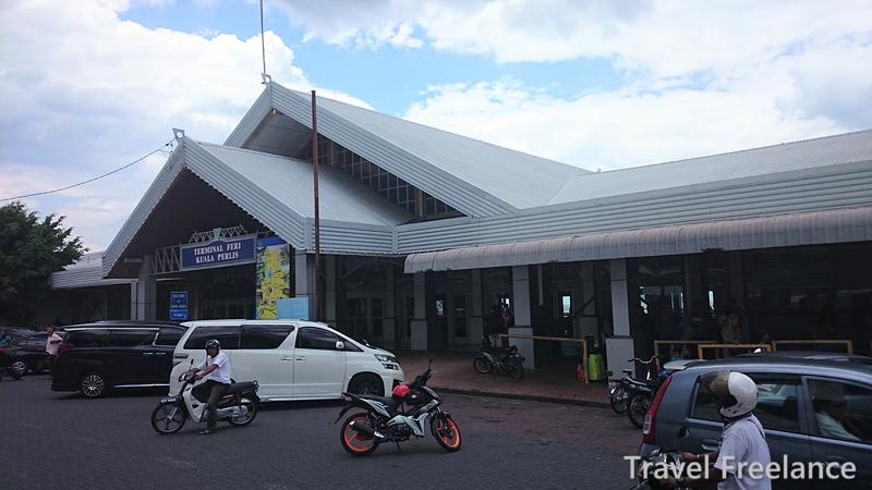 クアラペリスからランカウイ島行きのフェリー・ターミナル