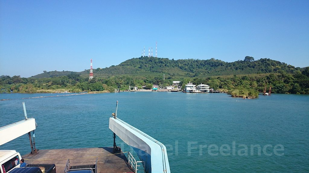タイ東部にあるチャーン島